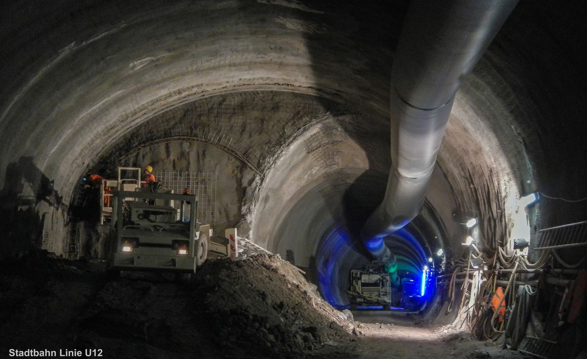Stadtbahn Linie U12 Aufweitungsbauwerk 01